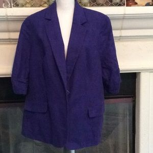Coldwater Creek jacket w/3/4 sleeves NWOT 20/22💕